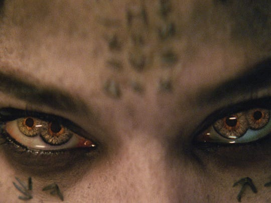 Sofia Boutella's eyes don't always telegraph empathy