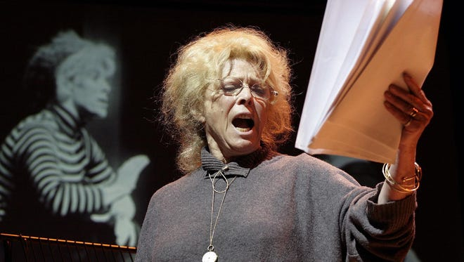 Dec. 21, 2014: Billie Whitelaw on April 2, 2006.  British actress Billie Whitelaw, who collaborated closely with Irish playwright Samuel Beckett and appeared on stage and screen for decades, has died in a London nursing home at age 82. Denville Hall general manager Charlotte Schram said Whitelaw died Sunday.