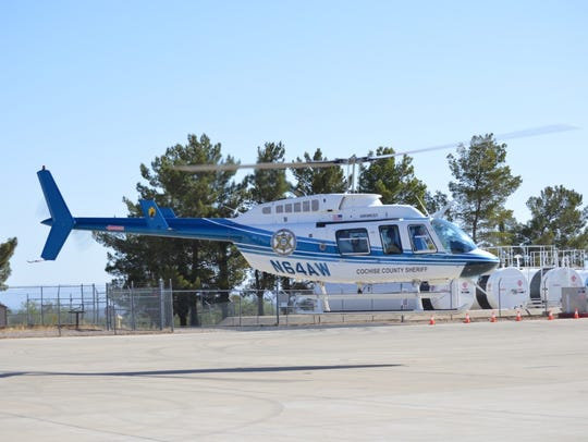 Cochise Air, a helicopter used by the Cochise County