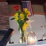 The Fallen Comrades table at Capitol Grill in Jackson.