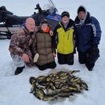 Paul Lessila and John with their sons and a nice father son outing.