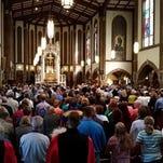 Detroit Mass Mob Transfiguration Church