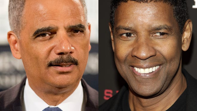 Eric Holder and Denzel Washington -- a match made in movie heaven?