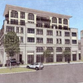 St. Rita Catholic Church wold be replaced by a six-story apartment building for older people, and a new church, under a new proposal.