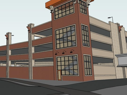 An artist's rendering of a proposed nearly $9 million