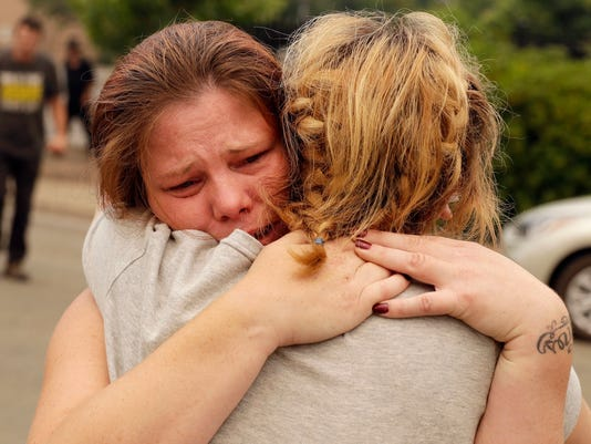 California wildfires: Three family members die in blaze