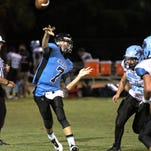 Quarterback Andrew Fowler is one of 20 returning starters for Marco Island Academy.
