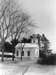 The West Milton Meeting House, also known as the West Milton Church, operated from 1832 until the 1930s with strong attendance including people coming by oxen from as far away as Georgia, Vt. The building was dismantled a decade later after being sold to a local carpenter for $80 who reused the wood for other projects.