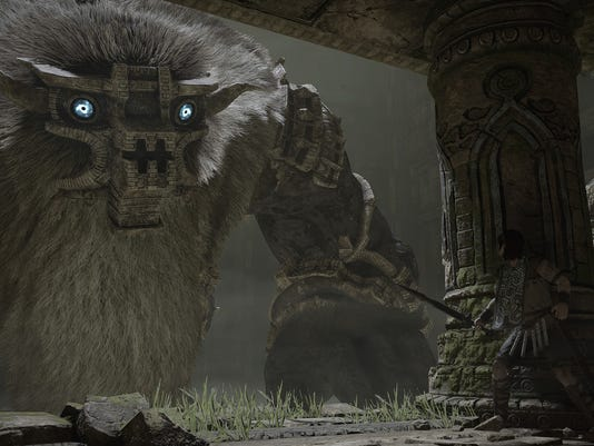 Shadow of the Colossus remake for PS4.