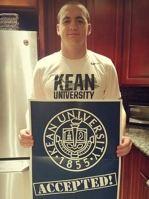 Wayne Hills' Pete Dellechiaie plans to play football and major in architecture at Kean.
