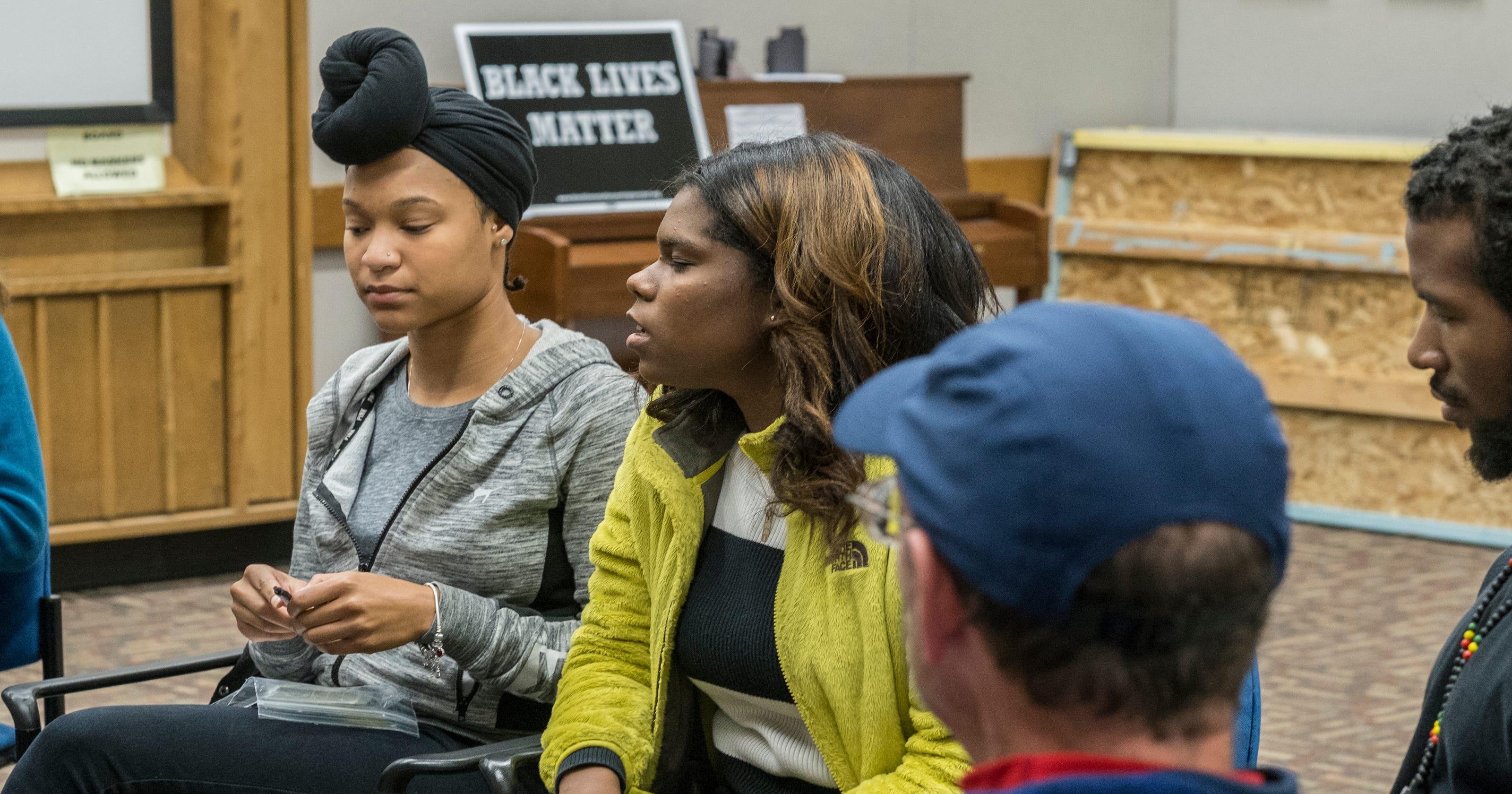Community Discusses Black Lives Matter At East Lansing