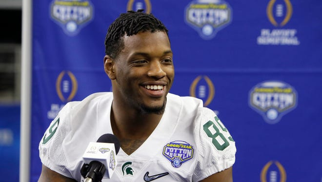 Michigan State defensive end Shilique Calhoun.