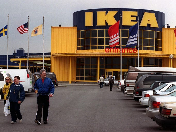 How ikea has grown over the years for Elizabeth new jersey ikea