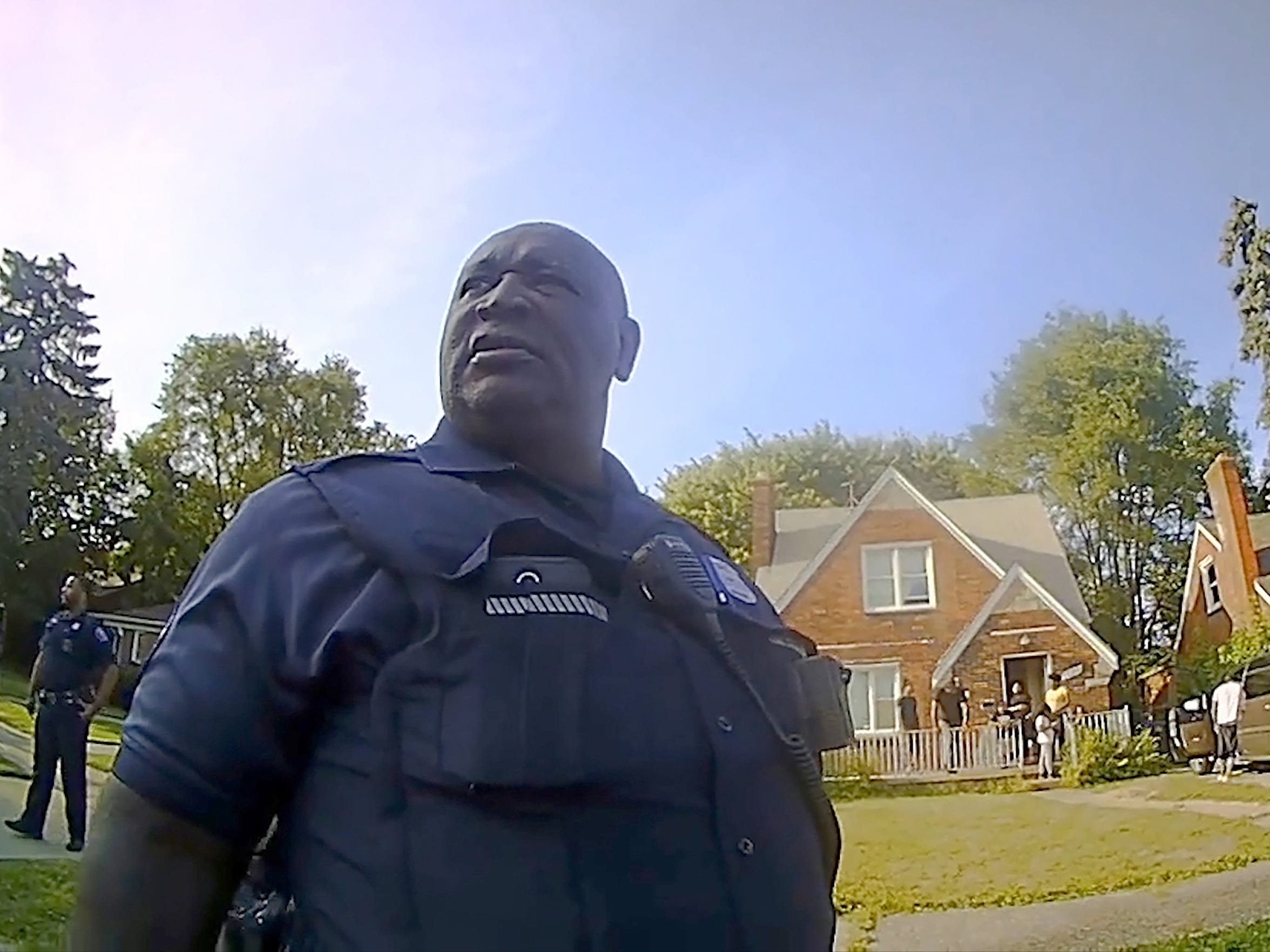 Detroit Police Officer Aubrey Wade was reassigned to non-patrol duty on April 11, 2018, after his supervisors reviewed video of him making insensitive remarks at the scene of a fatal ATV crash involving Damon Grimes.