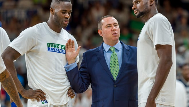 Longtime FGCU assistant and new head coach Michael Fly is going to take his time in putting together a staff.