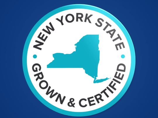"The symbol ""Grown & Certified"" appears on food products that meet certain state requirements"