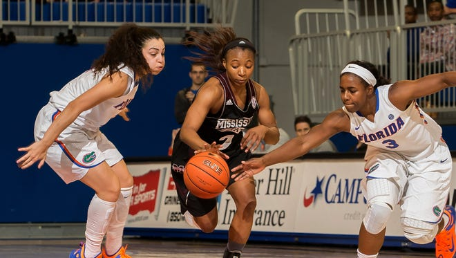 Mississippi State guard Morgan William has helped her team to a No. 7 ranking.