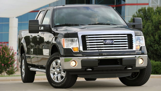 The 2011 Ford F-150, America's top-selling truck for 33 years, is the first and only pickup available with a twin turbocharged, direct-injected gasoline truck engine. Rated at 365-horsepower and 420 lb-ft of torque, the EcoBoost F-150 has a class leading towing rating of 11,300 lbs. F-150's four new engines help boost fuel economy about 20 percent over the 2010 F-150 lineup.