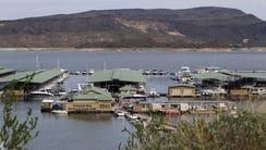 Scorpion Bay Marina at Lake Pleasant.