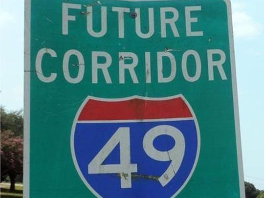 Plans are under way to build a six-lane interstate connector, part of Interstate 49, through Lafayette, Louisiana.