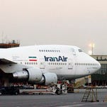 A Boeing of Iran's national airline in Tehran in 2003.