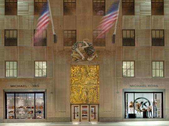 Michael kors raises outlook on asia e commerce sales for Michael kors rockefeller center