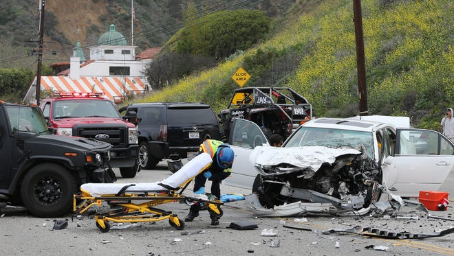 Bruce Jenner was involved in a car crash that killed one person in Malibu, Calif., on Saturday afternoon.