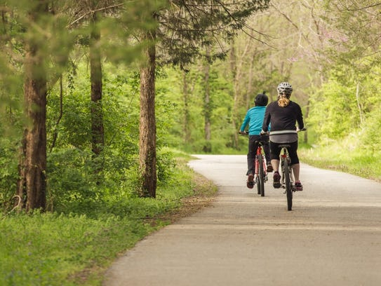 Wilson's Creek Greenway Trail has been named a National