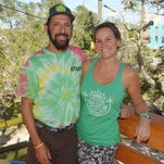 Matthew and Kelly VanDenBeldt opened Cocoa Beach Aerial Adventures last month.