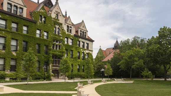 The University of Chicago (file photo).