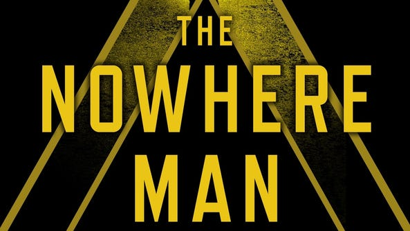 """The book jacket for """"The Nowhere Man"""" by Gregg Hurwitz."""