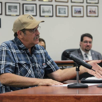Otero County Road Superintendent Tom Porter discusses