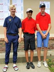 The three at-large individual Division 1 boys golf