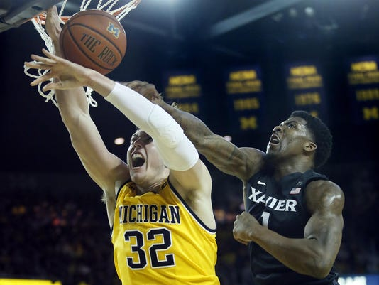 Xavier v Michigan