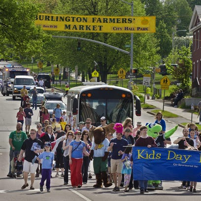 Kids Day in Burlington will be held on Saturday, May 7, from 9:30 a.m. to 3 p.m. Free Press File