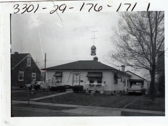 This house, on Loraine Street in Lansing, was the home