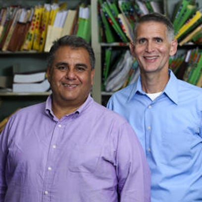 Michael DeLeon, left, and Greg Bourke were among the petitioners in the legal case that resulted in the historic ruling in which the Supreme Court said states must allow gays and lesbians to marry and that states much recognize those marriages.