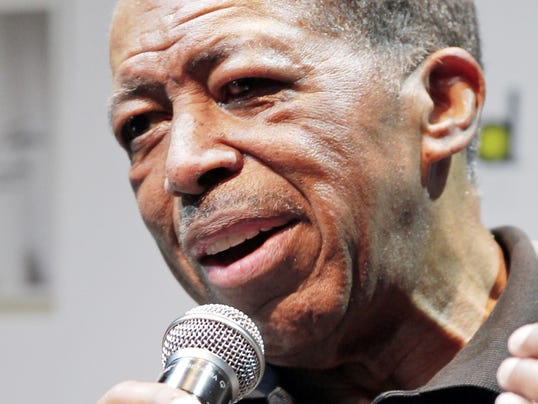 """FILE - In this Nov. 15, 2011, file photo, singer Ben E. King speaks during a news conference in Tokyo. King, singer of such classics as """"Stand By Me,"""" """"There Goes My Baby"""" and """"Spanish Harlem,"""" died Thursday, April 30, 2015, publicist Phil Brown told The Associated Press. He was 76."""