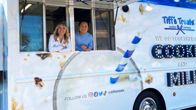 Tiffany and Leon Chen started Tiff's Treats more than 20 years ago, and this fall, they launched a truck to give away cookies to charities and at events. The company said to expect the truck to travel to cities where they don't already have cookie delivery locations.