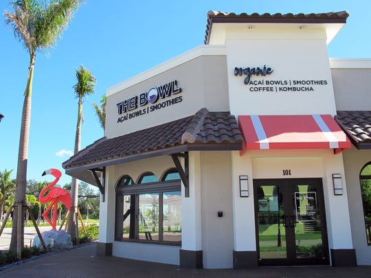 The Bowl recently launched its second location at 1200 Central Ave. in Naples.