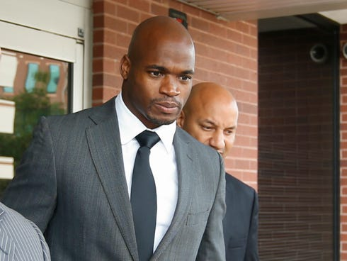 Request denied to remove judge in Adrian Peterson case | The News ...