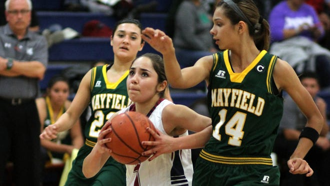 Valerie Lopez shredded opposing defense with quick slashing drives to the basket.