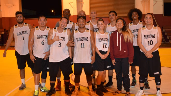 Slingstone defeated MVP 64-52 to take the GHRA Championship title on Saturday, June 17, 2017, at the Tamuning Gym.