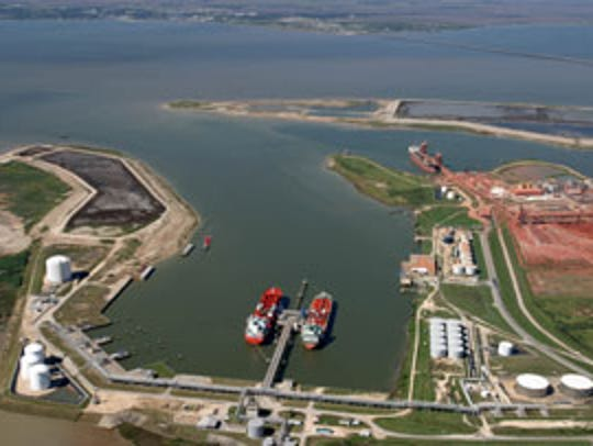 The Port of Port Lavaca-Point Comfort serves as a gateway
