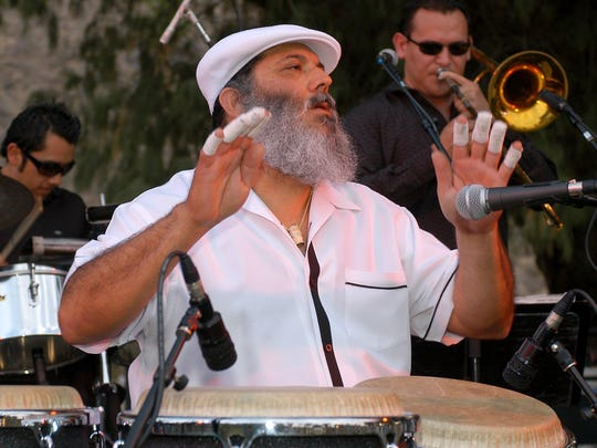 Poncho Sanchez, who headlined the first two-day Jazz in the Pines Festival in 1998, will perform Sunday at Morongo Casino.
