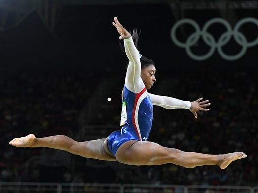 Simone Biles, 19 | Partner: Sasha Farber | Gymnast