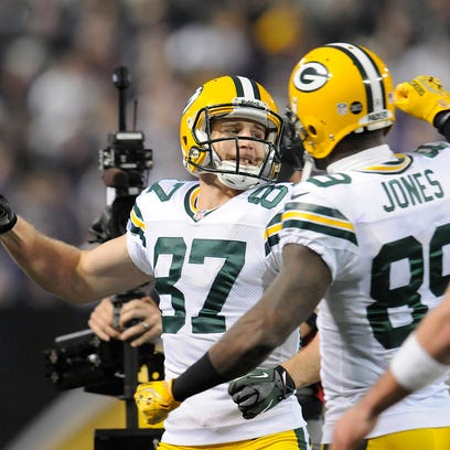 Jordy Nelson (87) and James Jones (89) are two of the