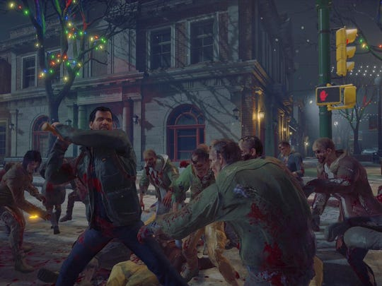 "It's man vs. zombies in ""Dead Rising 4,"" released earlier this month for Microsoft Windows and Xbox One."