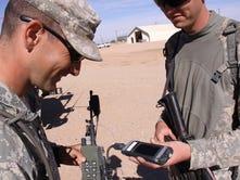 Rifleman radio. (Photo Credit Claire Heininger, PEO C3T)