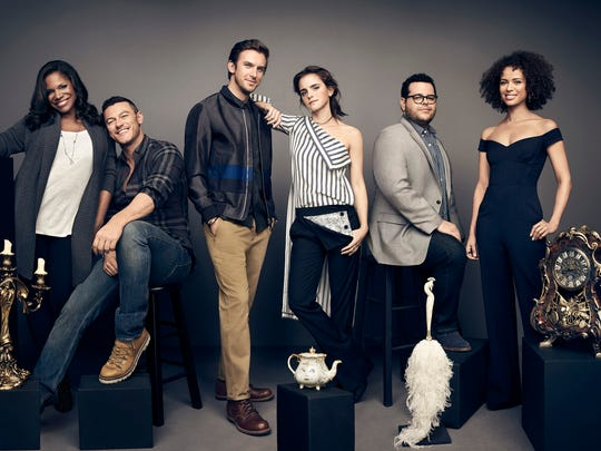 The cast of 'Beauty and the Beast': Audra McDonald,